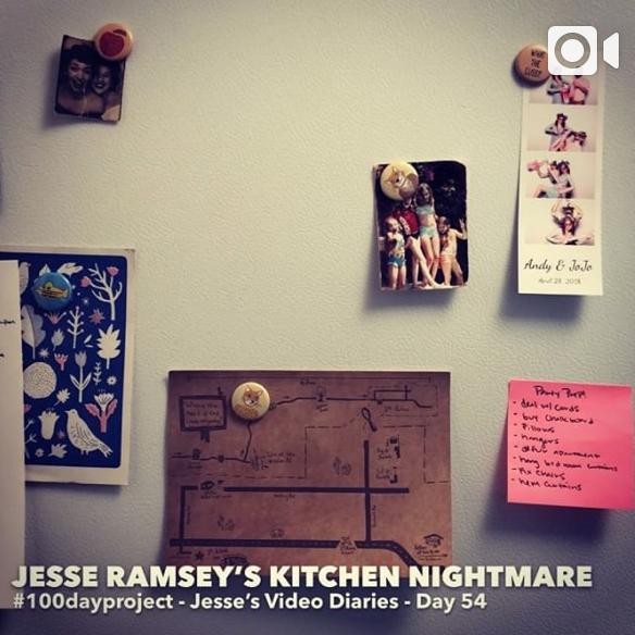 DAY 54 -JESSE RAMSEY'S KITCHEN NIGHTMARE -