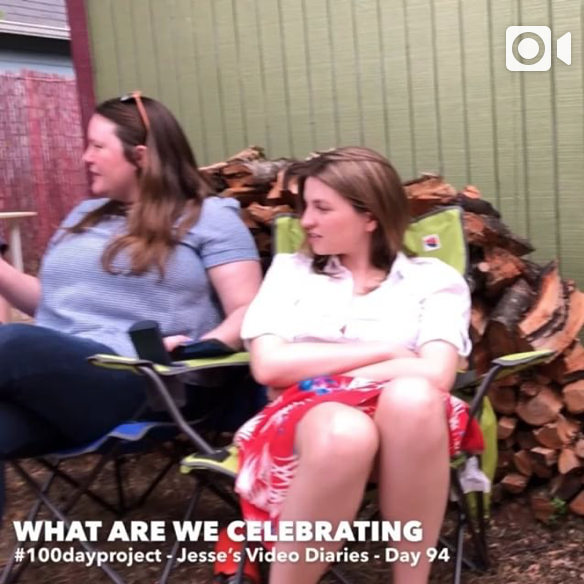 DAY 94WHAT ARE WE CELEBRATING -