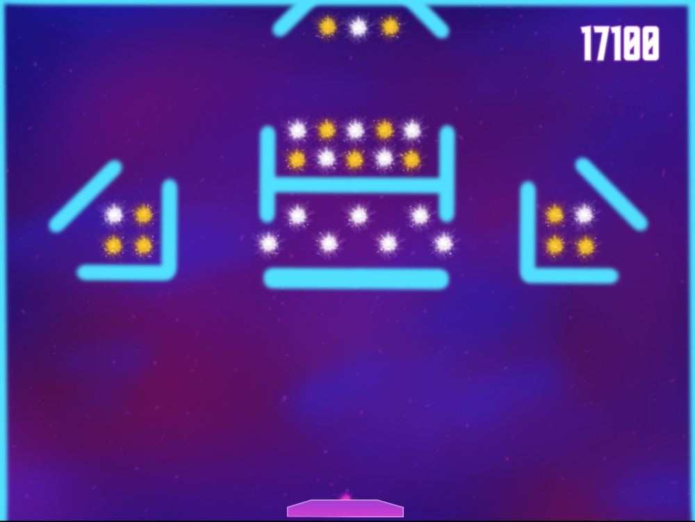 Level 6 - Tight Space(s):  Requires player to be tricky with no easy to get stars, double-hit stars become more integrated.