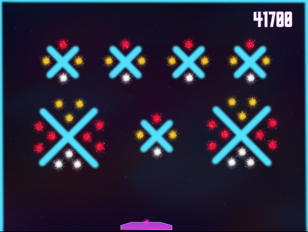 Level 10 - Black Hole:  Just about every star hit in this level is accompanied by a blocker, but there is also an opportunity for the ball to bounce around a lot on its own, creating a satisfying final spectacle.