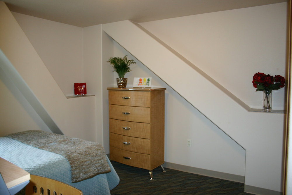 Spacious bedrooms at the Aberdeen Apartments