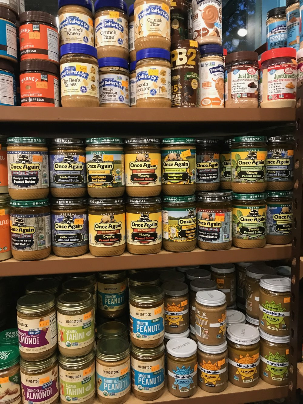 Nut & Seed Butters -
