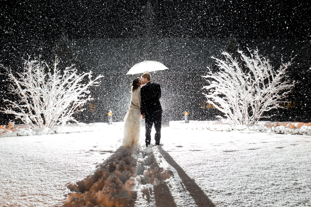 A New Years Eve Wedding in the Snow at  Castle Farms, Charlevoix, MI  —