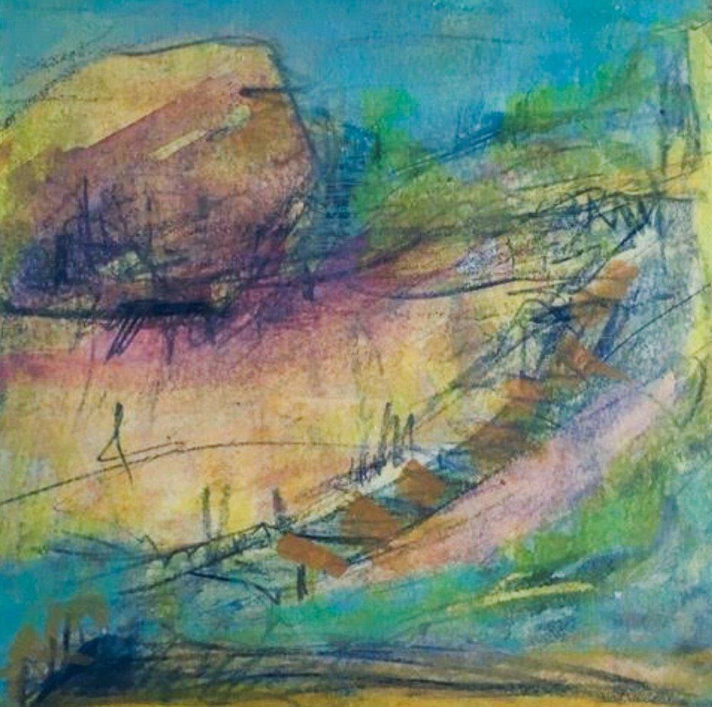 """Martine Jardel, 8""""x8"""" Passage #46"""