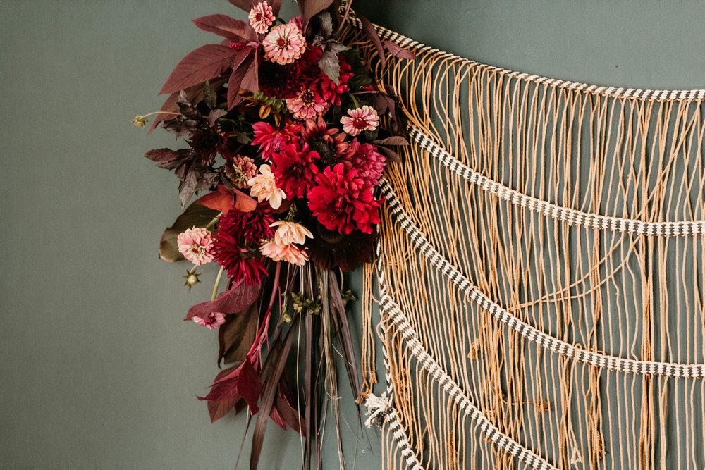 Floral Design by Riverwood Gardens.