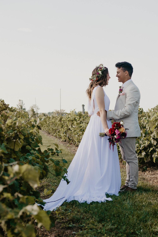 Love in the vineyard…