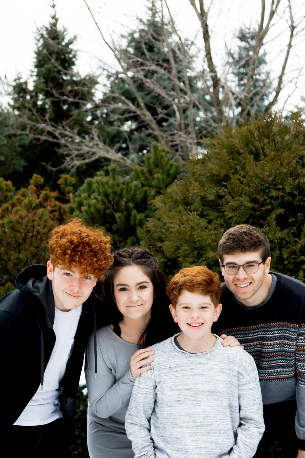 Justin, Rosie, Jeremy and Jonathan