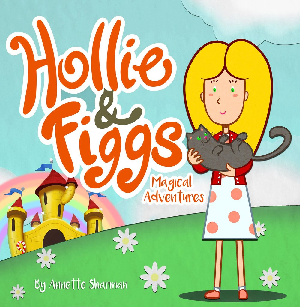 Hollie and Figgs Magical Adventures cover art as designed by Andy Wintrip