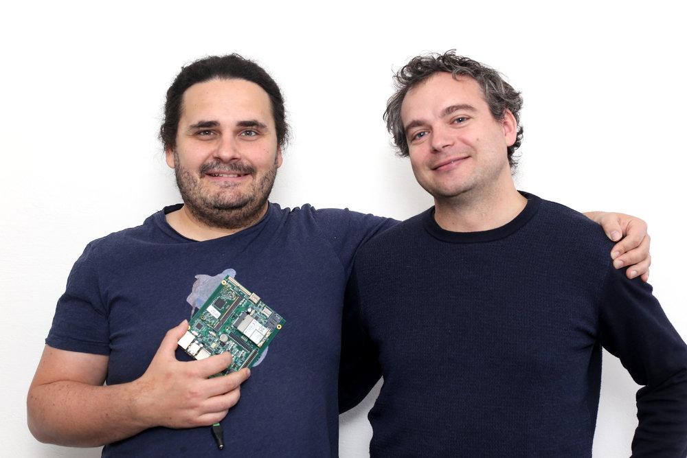 Pavel Klinger und Pavel Konečný von Neuron Soundware