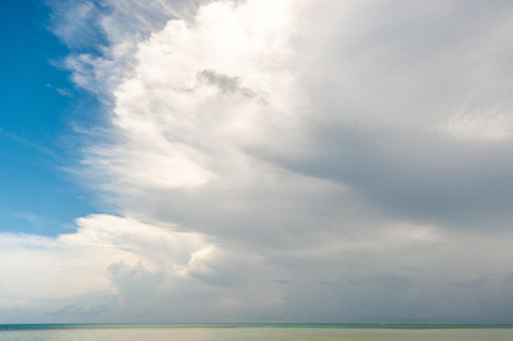 Color Photograph, Landscape, Storm, Caribbean, Healing Art, Hospital Art, Cayman, Interior Design, Wall Art