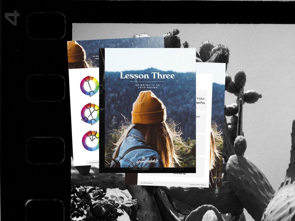 Be Unmistakable Branding Course | Good As Gold Studio | Squarespace Design Kit Templates & DIY Branding