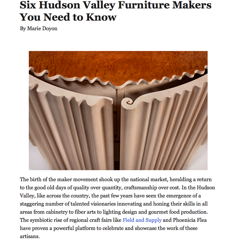 """""""Exaltations of form and function…"""" - See the full article here"""