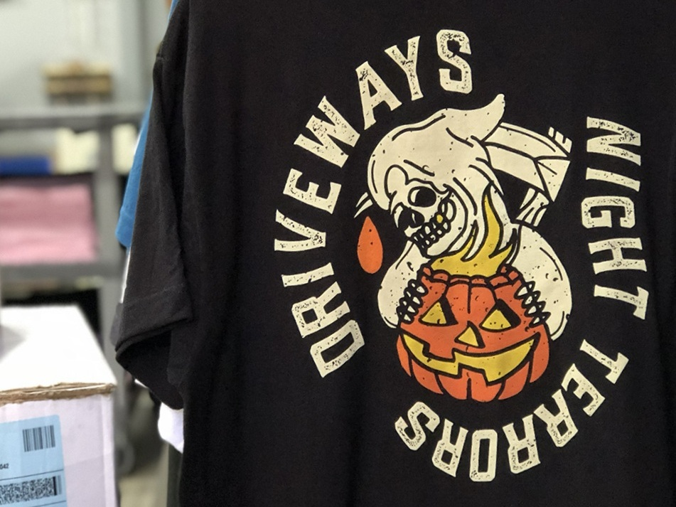 T-Shirt & Apparel Screen Printing - Garment production is a blank industry. Silkscreen printing is all about what we do with that empty canvas. We use our experience in both fields to make sure that the material, fit, and design match with the client's vision without overcomplicating the process.