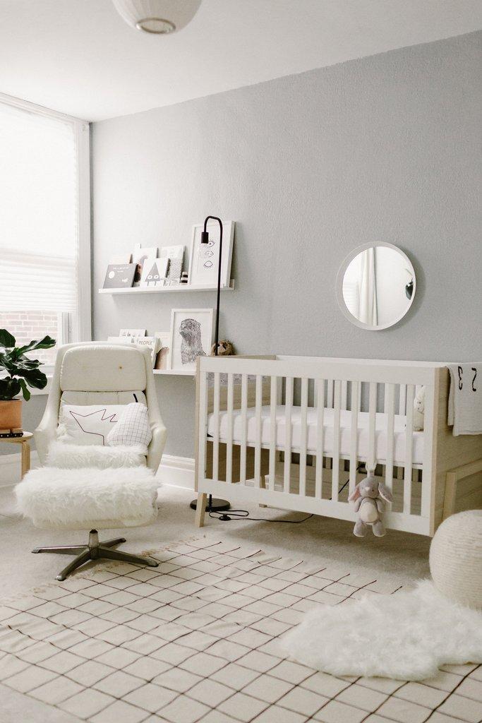 mid century nursery style