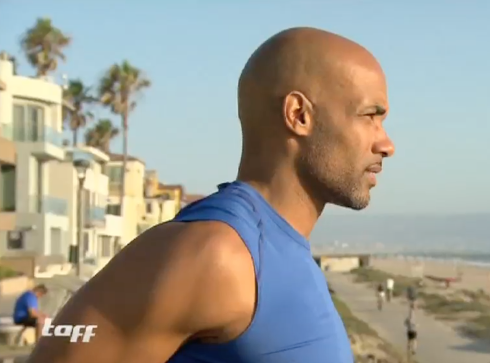 Boris Kodjoe in LA