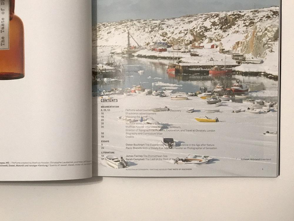 Taste of Discovery, Mathias Kessler Exhibition Catalogue
