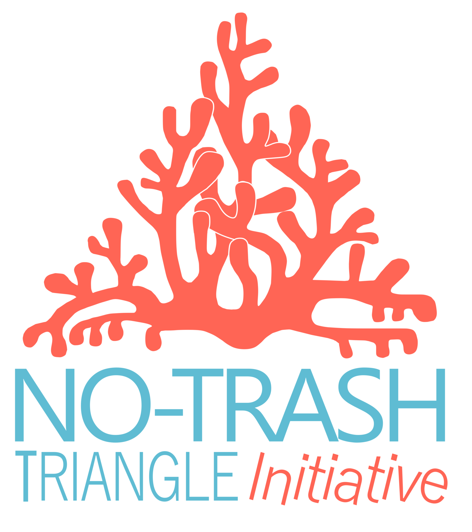 no-trash triangle