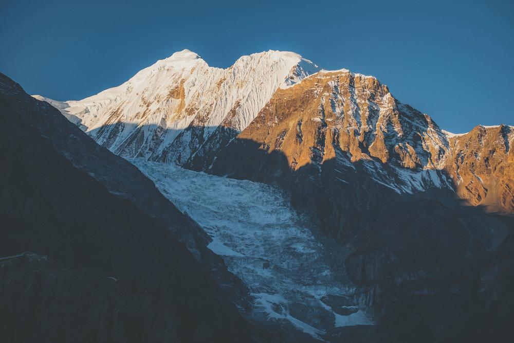 Gangapurna Glacier.