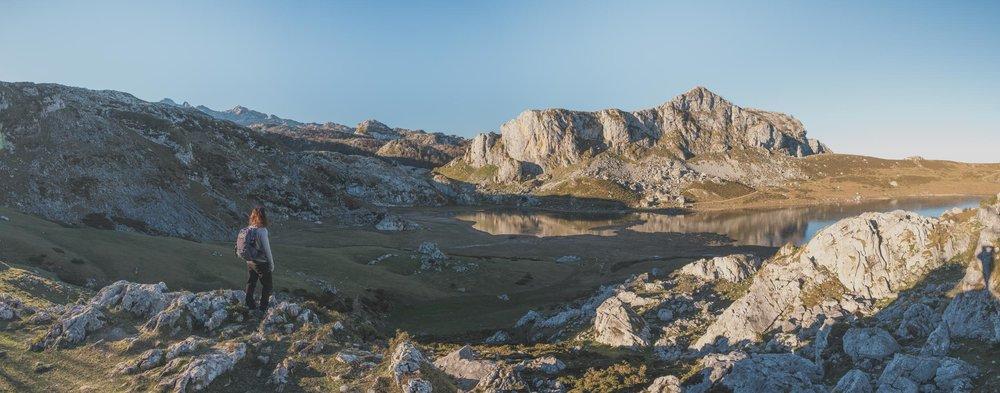 Asturias 2019, Cangas de Onis, Lagos de Covadonga, Bulnes, Picos de Europa