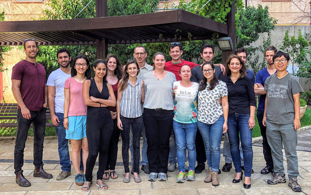 Meller lab - Group photo 2018