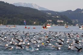The swim at Ironman Austria