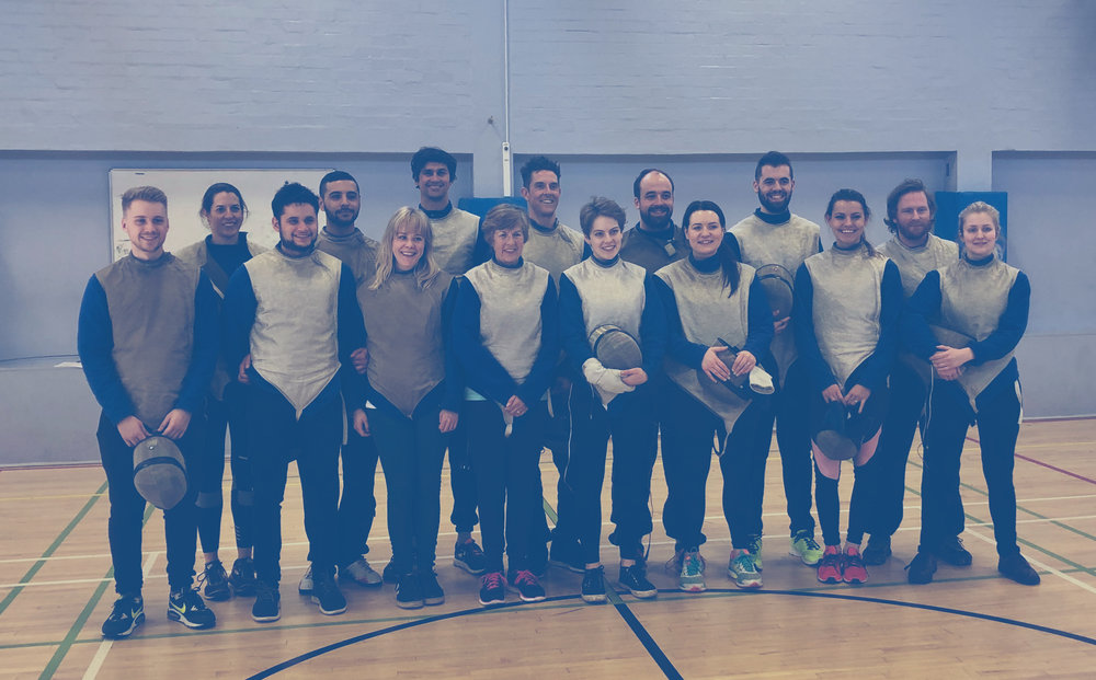 Book Your FREE Fencing Taster Session! -