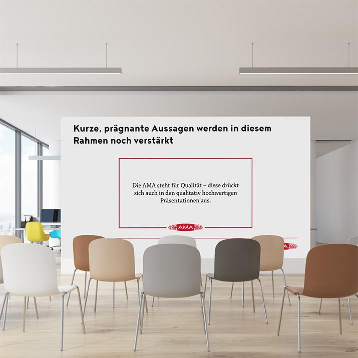Präsentationsvorlage für AMA-Marketing