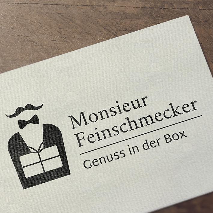 Logo für Monsieur Feinschmecker