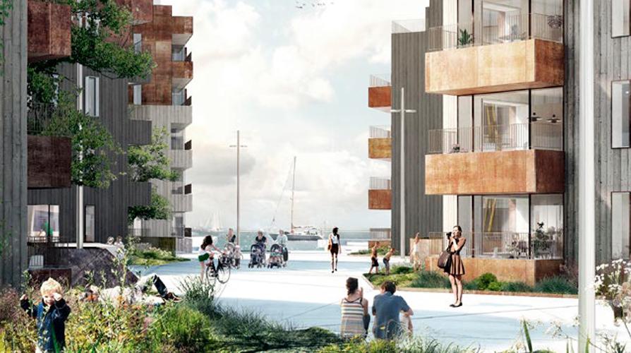 KANALBYEN i FREDERICIA    Kanalbyen skal være klimasikker, ny bydel mellem Fredericias historiske bymidte og Lillebælt, med plads til 1200 boliger og 2800 arbejdspladser.