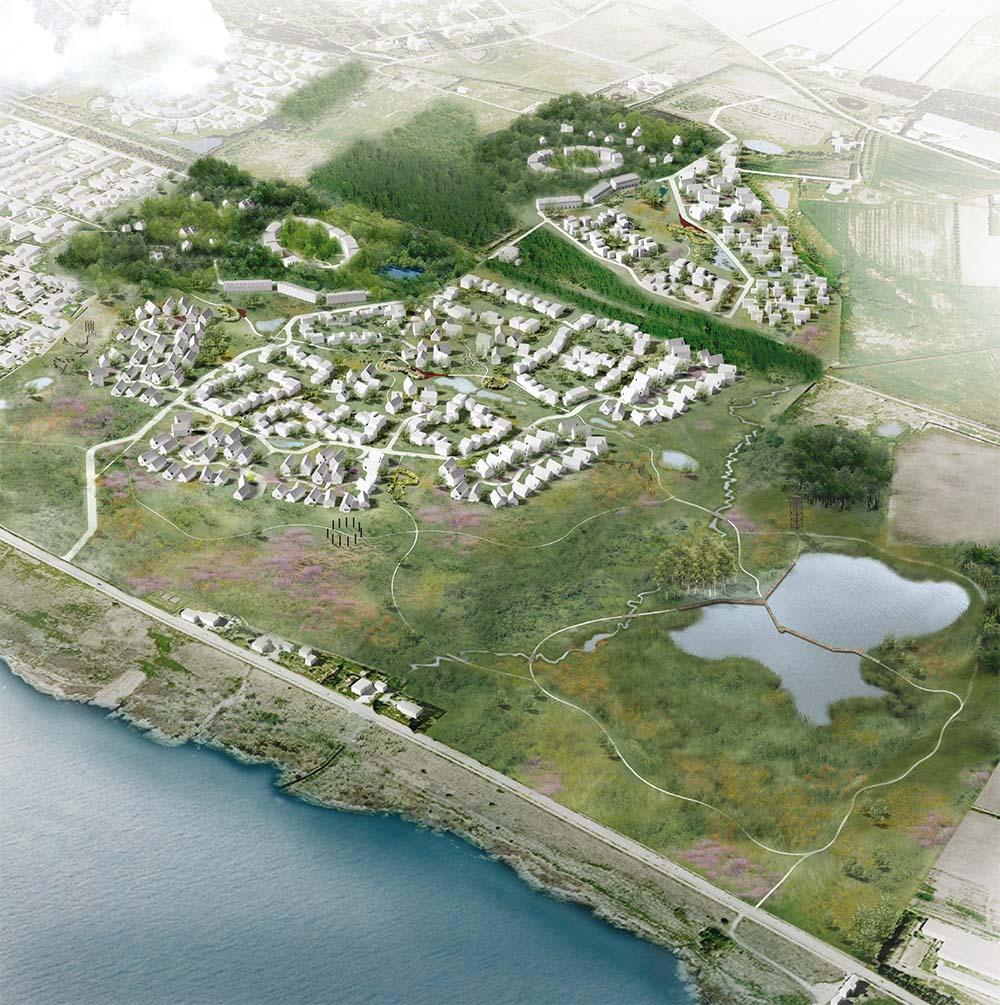 NATURBYDELEN RINGKØBING K - Nyt boligområde med tæt kontakt mellem by, natur og hav