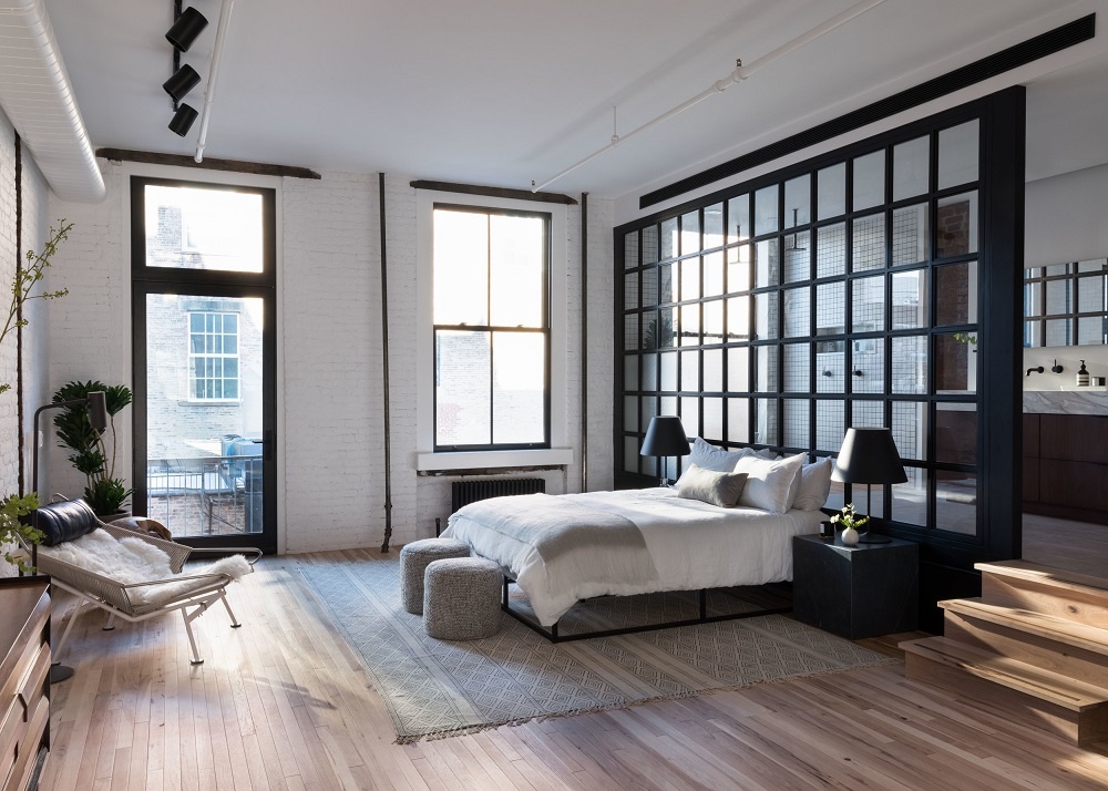 An industrial loft in SoHo    | design by Becky Shea & photos by Claire Esparros
