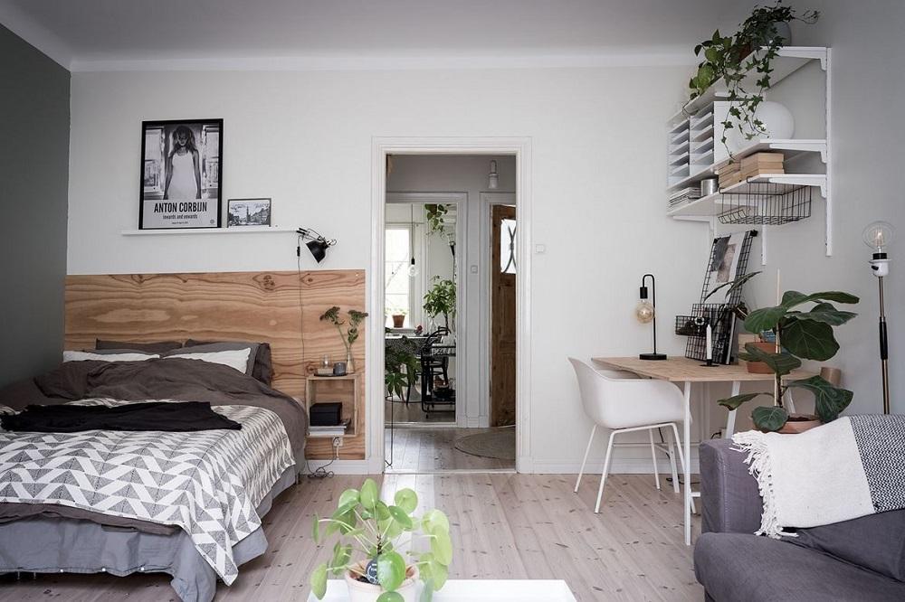 A lovely Scandinavian studio