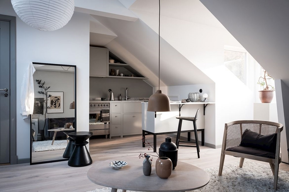 A light attic studio apartment | styling by Emma Fischer & photos by Alen Cordic