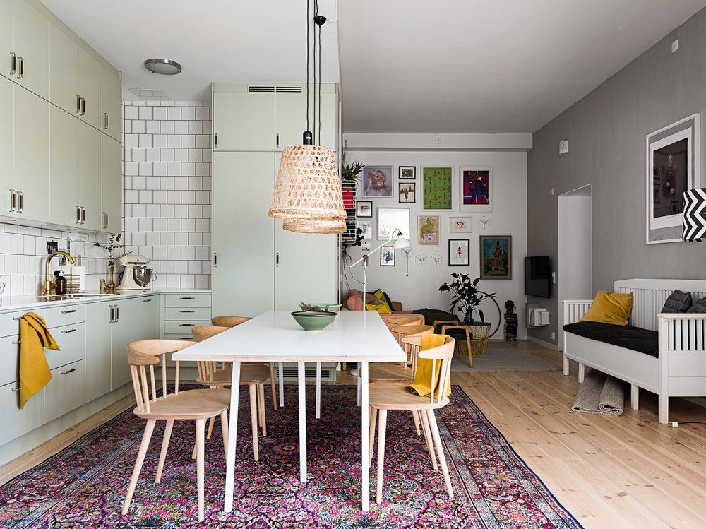The Nordroom - A Swedish Family Home with Colorful Touches