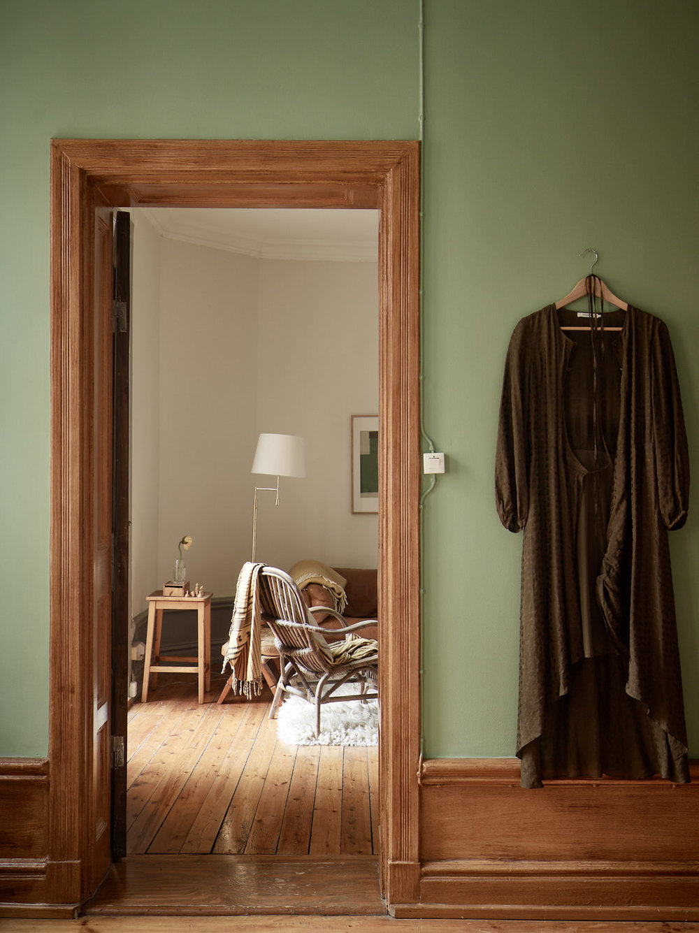 The Nordroom - A Charming Scandinavian Apartment with Original Details and Muted Colors