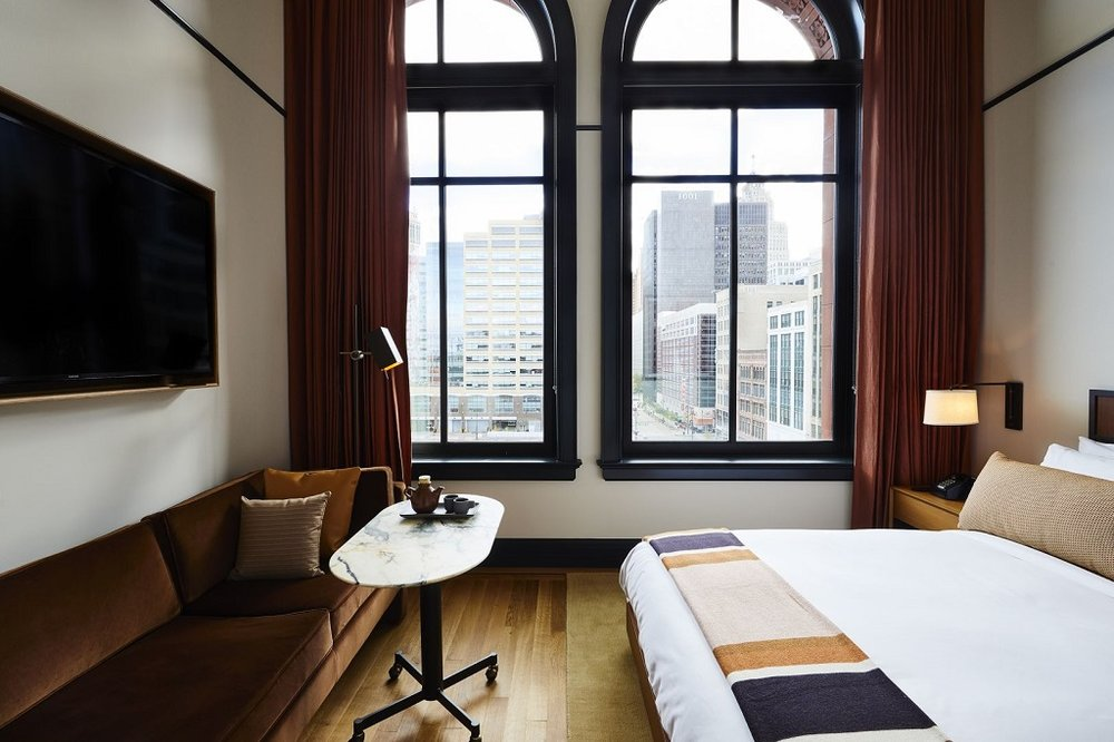 The Nordroom - Shinola Hotel in Detroit