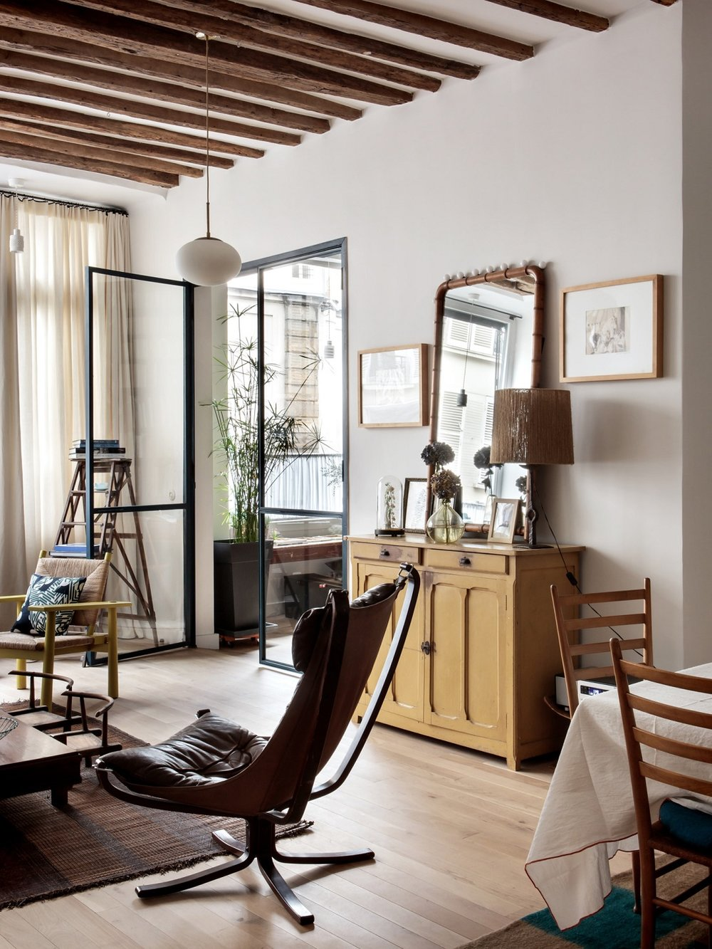 The Nordroom - Original Details and Industrial Touches in a Family Home in Paris