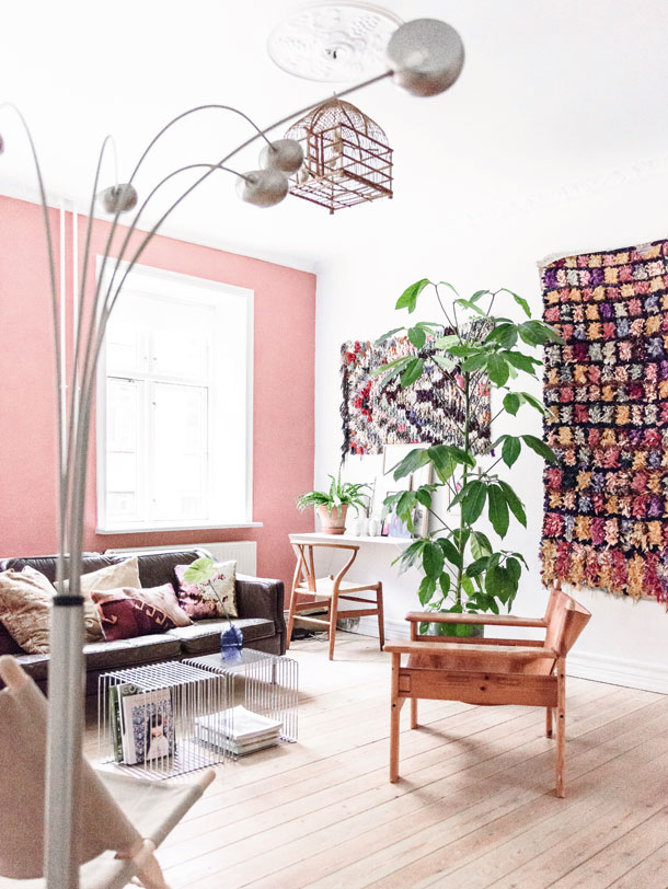 The Nordroom - A Danish Home with a Touch of Pink in Every Room