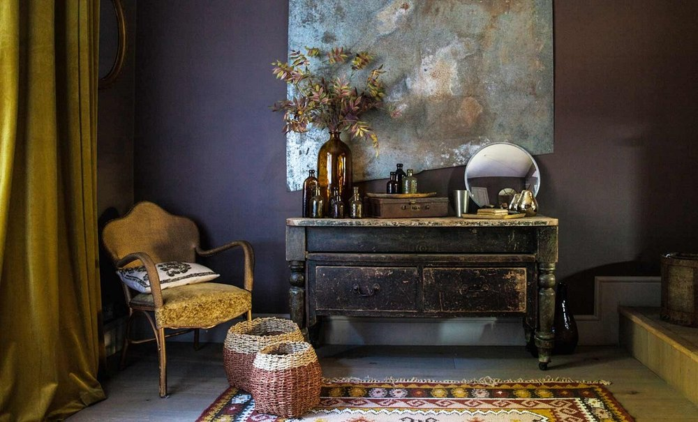 The Nordroom - A Vintage Looking Home Decorated in Dusty Colors