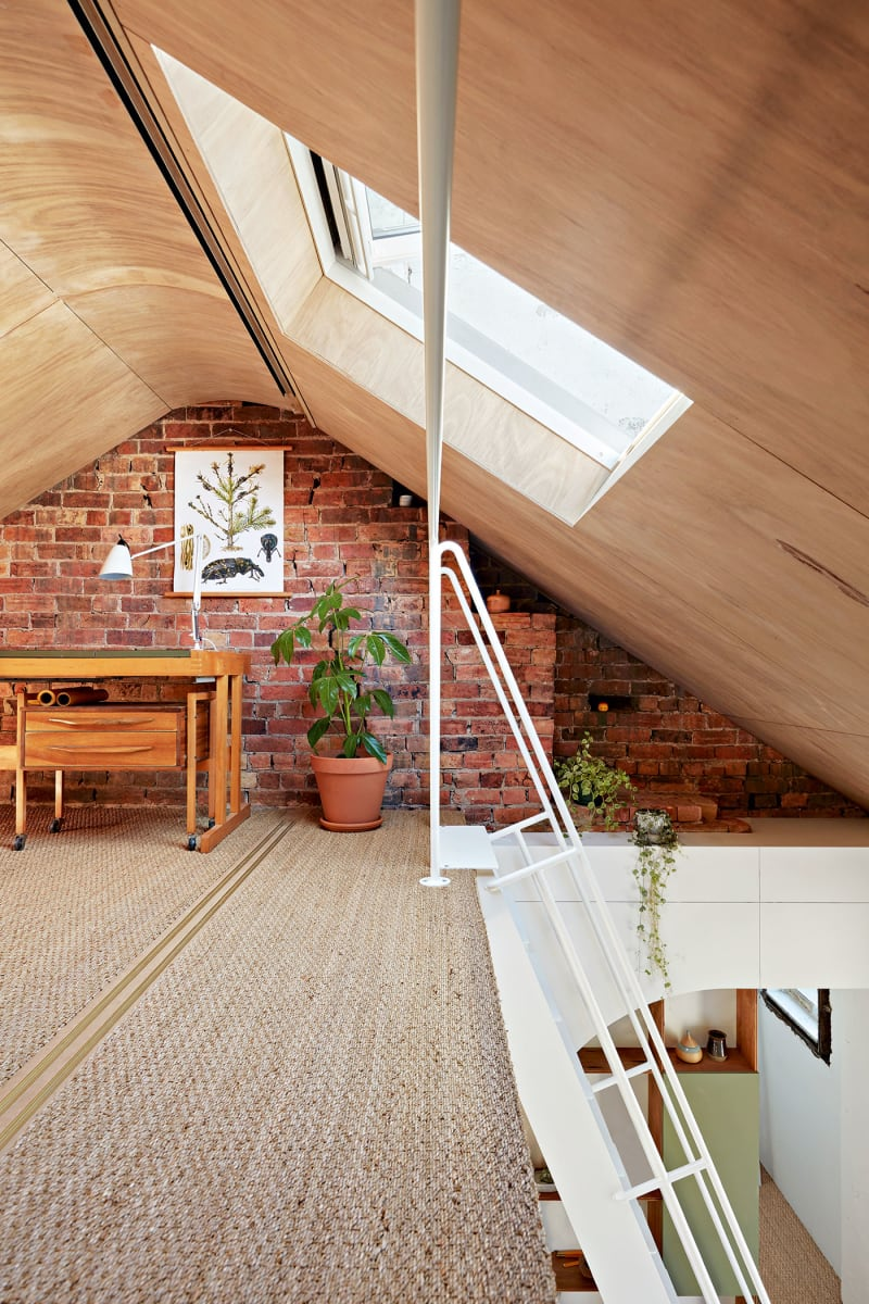 Recycled Materials In A Colorful Architectural Home In Melbourne The Nordroom