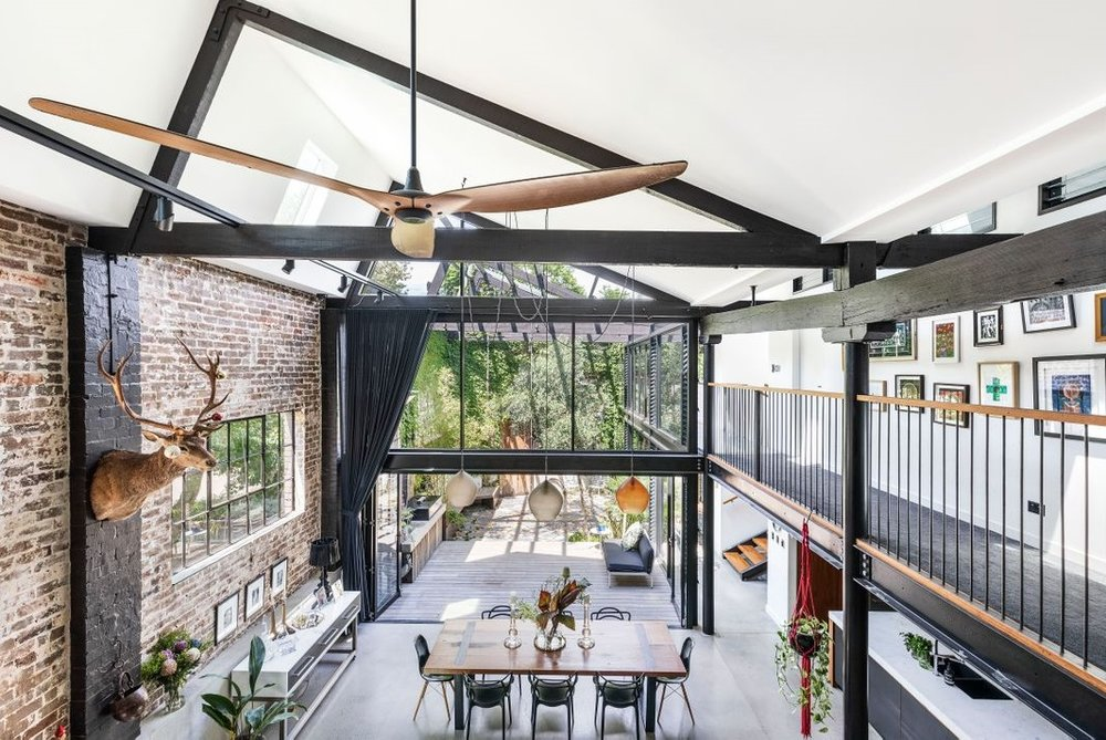 The Nordroom - A Spectacular Warehouse Conversion in Sydney