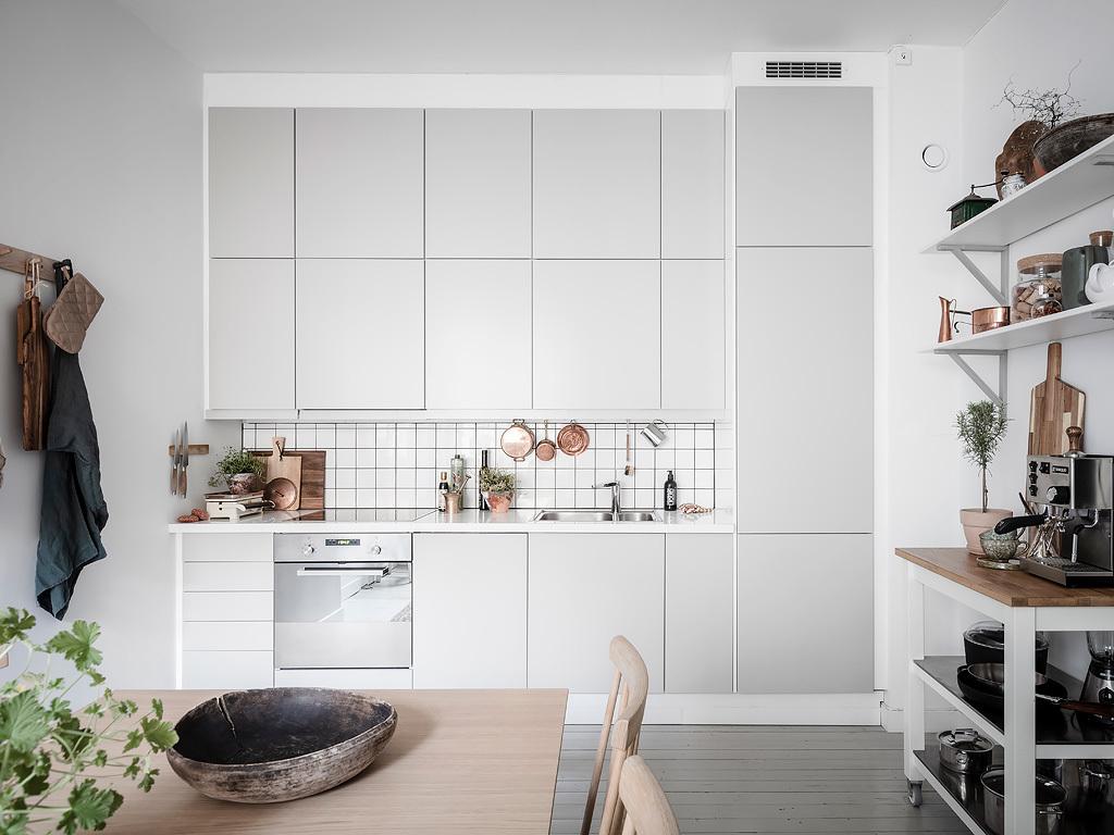 The Nordroom - A Beautiful Grey & Blue Scandinavian Apartment