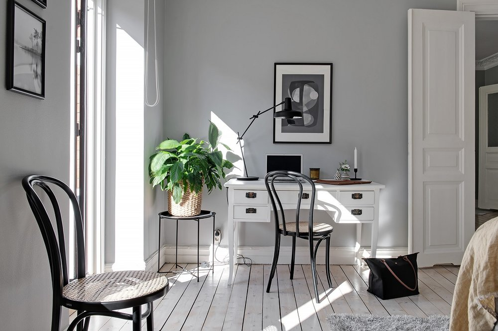 The Nordroom - A Lovely Light-Filled Scandinavian Apartment