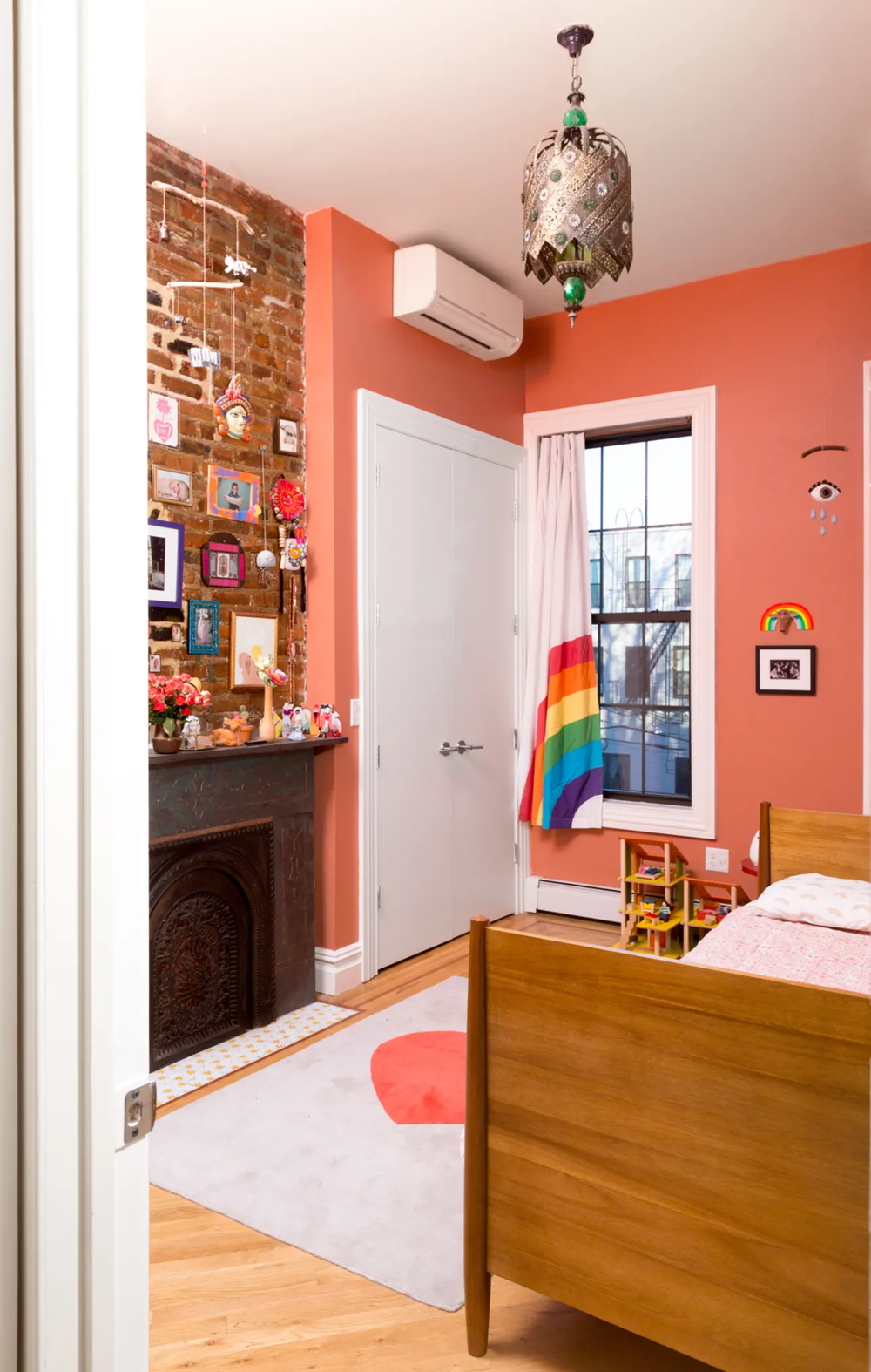 The Nordroom - Colorful Wallpaper In A Vibrant Brooklyn Family Home