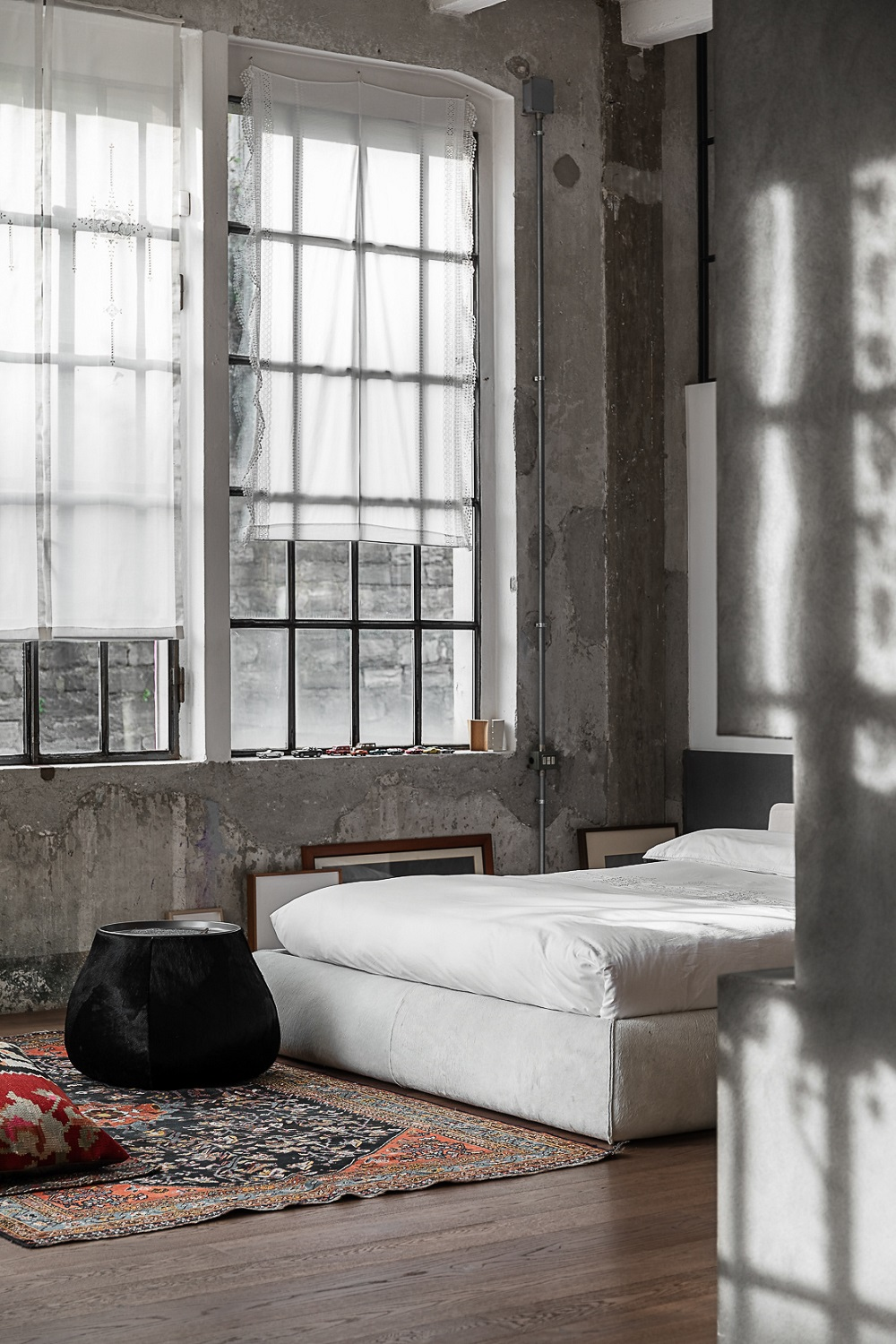 The Nordroom - An Industrial Artist Loft in Italy With Jaw Dropping Windows