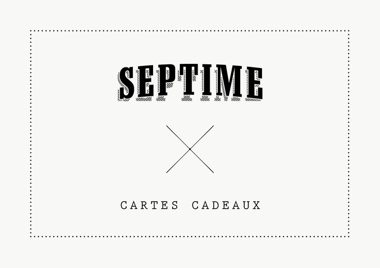 Les cartes septime