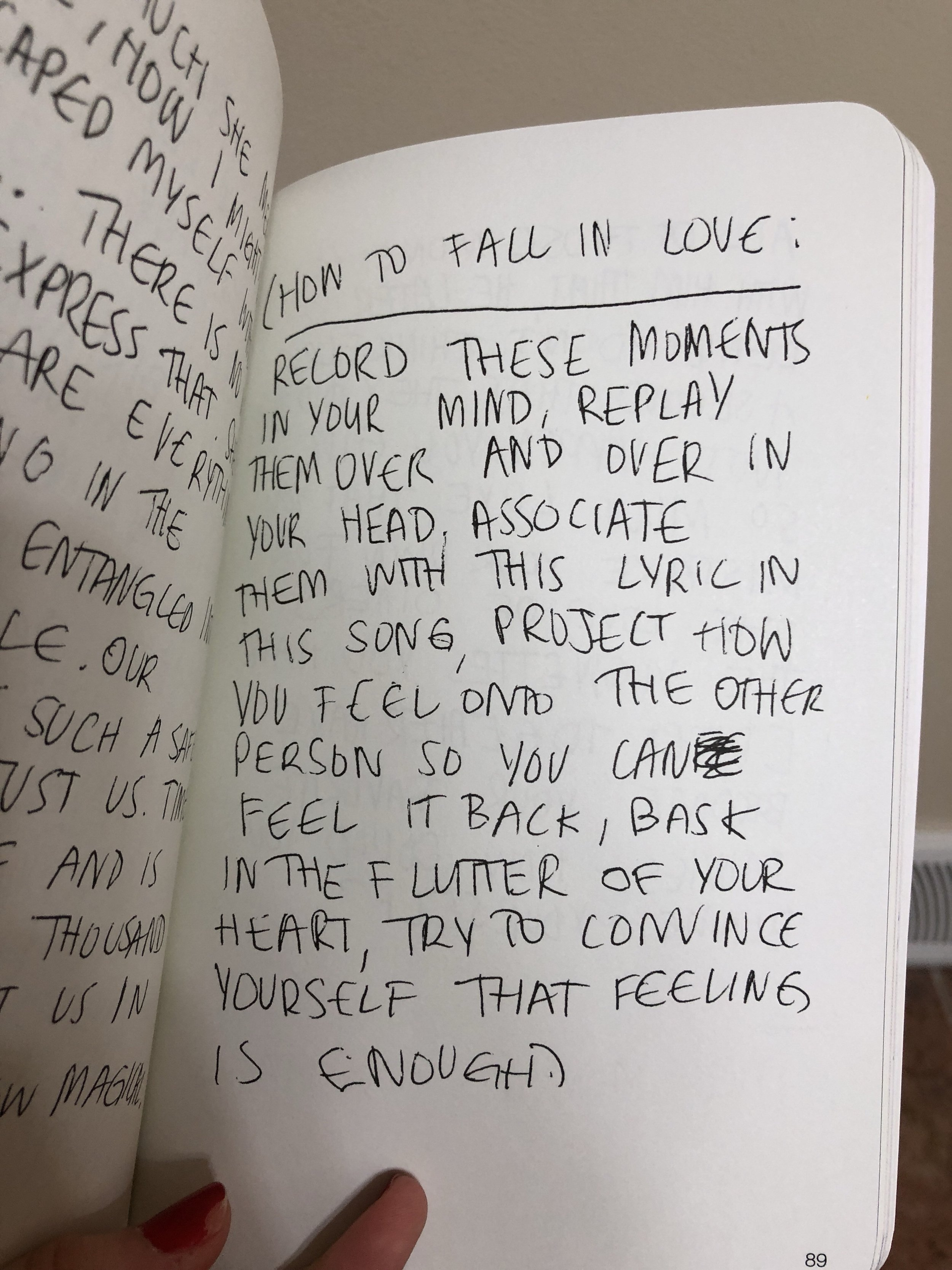 Some of my favorite pages from Still Here