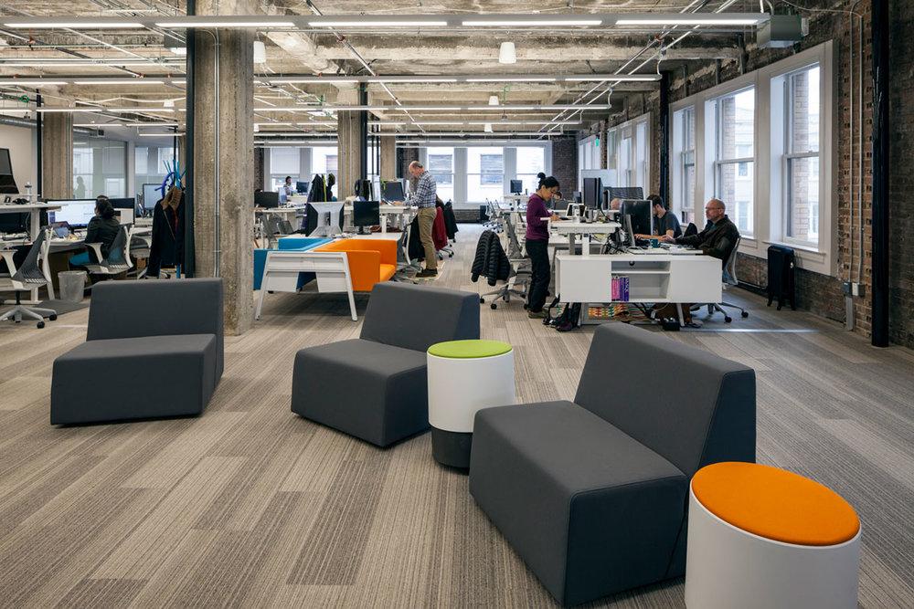 Collaborative open office environment