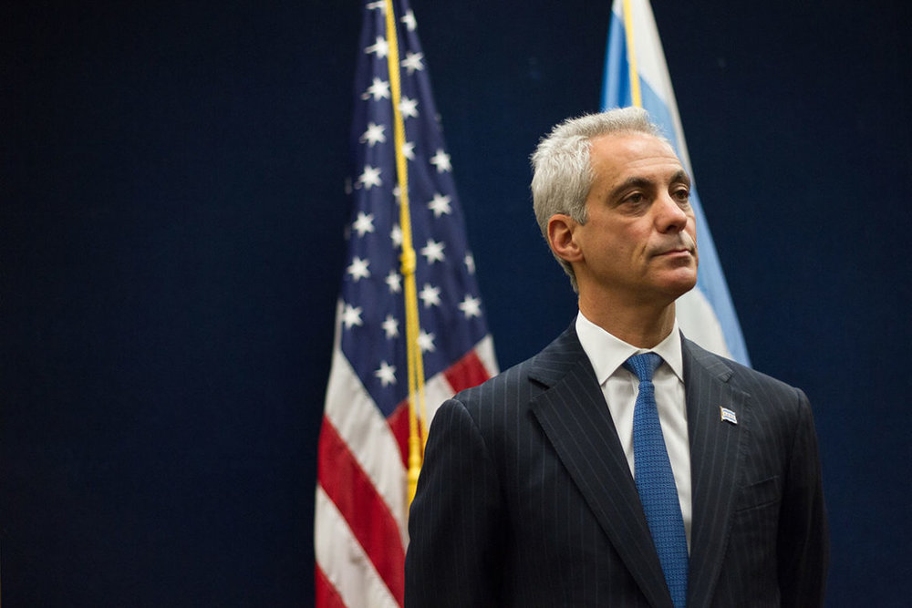 - Rahm Emanuel shocked the city when he announced he would not be running for a third term. Many think it is time. Amid the largest round of school closings in Chicago's history, record tax increases for Chicago residents to pay city pensions, record high days of gun violence, and the cover-up/debacle of the murder of Laquan McDonald that resulted in a federal investigation, many would argue that it has been time for Emanuel to leave for a while.