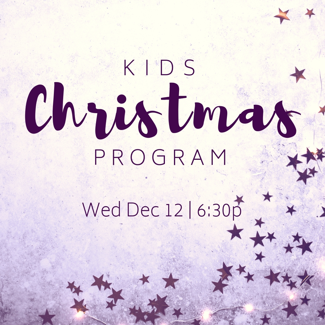 Kids Christmas Program — Hermantown Community Church